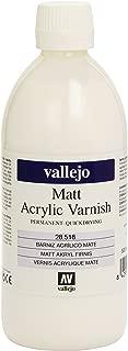 Vallejo Model Color 500ml Matt Acrylic Varnish