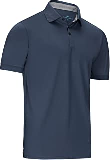 Mio Marino Golf Polo Shirts for Men - Dry Fit - Mens Athletic Shirts