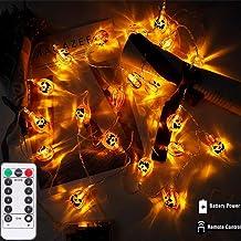 Queta 40 LED lichtketting pompoenlichtketting pompoenlichtketting pompoenlichtketting licht pompoenlicht string lichten de...