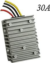 Proshopping Golf Cart DC Converter Regulator, 36V 48V Step Down to 12V 30A 360W Voltage Reducer, Big-Size DC/DC Power Supply Module Buck Transformer - for Golf Cart, Club car, forklifts, Car