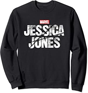 Marvel Jessica Jones Logo Felpa