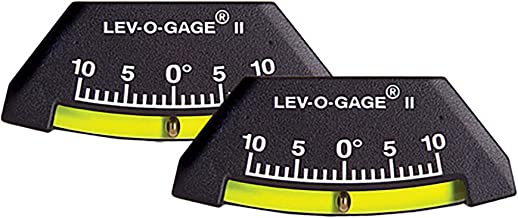 Sun Company 306-R Lev-o-gage II Inclinometer and Tilt Gauge - Pack of 2