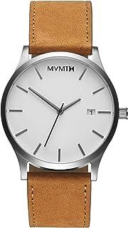 ساعتهای کلاسیک MVMT | ساعت مینیمالیستی آنالوگ 45 MM مردان | بند بند چرمی