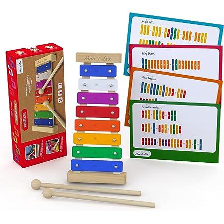 Le Xylophone - Max & Lea - Découvrir ses premières notes musicales et développer sa capacité auditive. Développer sa créativité et son imagination.