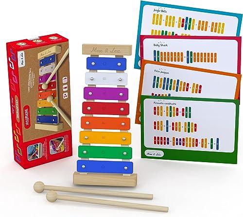 Le Xylophone - Max & Lea - Découvrir ses premières notes musicales et développer sa capacité auditive. Développer sa ...