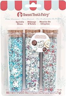 Sweet Tooth Fairy 345548 Winter Wonderland Sprinkles, Multicolor