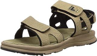 Woodland Men's Ogd 3010118_Khaki Leather Outdoor Sandals-9 UK (43 EU) (10 US) 3010118KHAKI