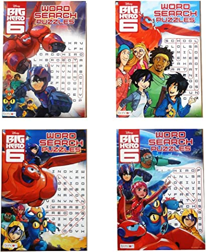 mejor servicio 1 X Disney Big Hero 6 Word Search Search Search Puzzles Books [4-books - 96 Pages Each] by Big Hero 6  mejor vendido