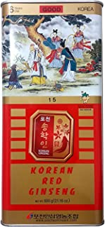 Pocheon 600g Korean Canned Dried Panax Red Ginseng Extra Large 19 Roots 6 Years Good Grade 600-15