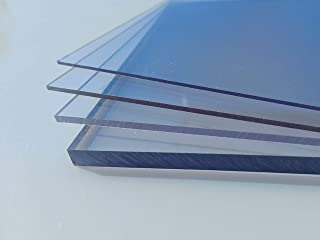 Acrylglas 2-10 mm PMMA Transparent Glasklar Laserschnitt laser polierte Kante Gr/ö/ße W/ählbar 300-1200mm 10 mm, 100 x 100 mm