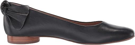 Black Vegetable Tumbled Calf Leather