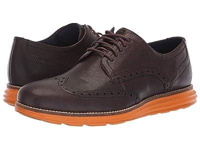 Cole Haan Original Grand Wingtip Oxford (Java Leather/Tumeric) Men