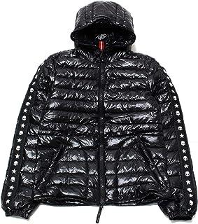 [ハイドロゲン] HYDROGEN ダウンジャケット メンズ デュベティカ コラボ BY DUVETICA ブラック 23D008 007 BLACK LAIO [並行輸入品]