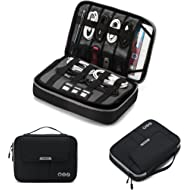 BAGSMART Universal Travel Cable Organizer Electronics Accessories Carry Bag for 9.7 inch iPad,...