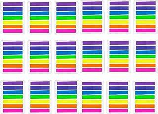 JZK 2128 stuks mini markeerstiften kleurrijke zelfklevende notities transparant page marker plastic index tabs plakbriefje...