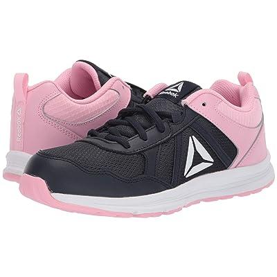Reebok Kids Almotio 4.0 (Little Kid/Big Kid) (Navy/Light Pink) Girls Shoes