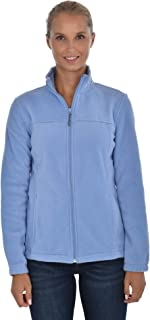 Swiss Alps Womens Full Zip Polar Fleece Jacket Sweatshirt with Pockets