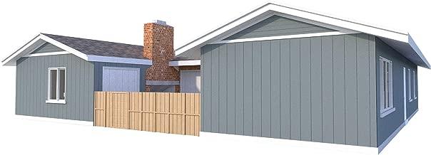 Duplex House Plans Blueprints DIY Two Bedroom House Building Plan Home Designs