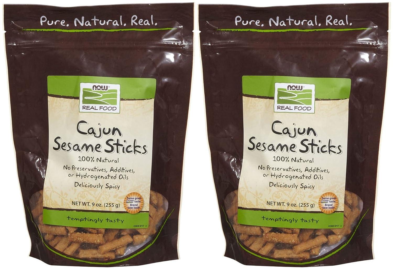 NOW Foods Sesame Sticks Max 89% OFF Cajun 9 - 2 Max 69% OFF pk oz