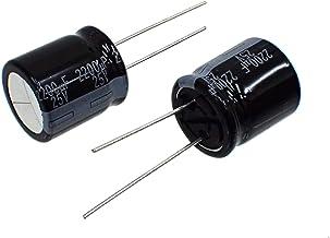 パナソニック(Panasonic) 汎用品 ラジアルリード形 アルミ電解コンデンサ 25V 2200μF 135℃ TPシリーズ EEUTP1E222S (2個セット)
