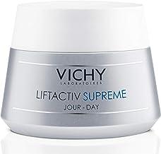 Vichy LiftActiv Supreme Anti Aging Face Moisturizer, Anti Wrinkle Cream to Firm & Illuminate, Suitable for Sensitive Skin, 1.69 Fl Oz.