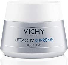 Vichy LiftActiv Supreme Anti Aging Face Moisturizer, Anti Wrinkle Cream to Firm & Illuminate, Suitable for Sensitive Skin, 1.69 Fl Oz.