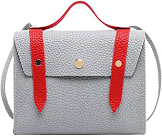 Women Scrub Small Square Mobile phone Wild Tassel Shoulder Bag Crossbody Messenger Bag