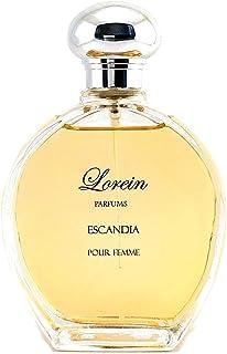 ESCANDIA EAU DE PARFUM DE LOREIN PARFUMS - PERFUMES DE MUJER -VAPORIZADOR 100ML- PERFUME DE LARGA DURACIÓN ELABORADO CON U...