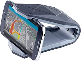 PEARL Handy Halterung Klammer: Universelle Kfz Smartphone Halterung mit Klammer, bis 15,2 cm (6') (Handyhalterung zum Schrauben)