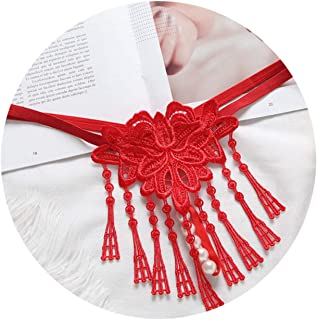 f9b979a2b9fa Women Toys Lace Tassel Pearl Thongs and G Strings Panties Female Lingerie  Hot Transparent Briefs Red