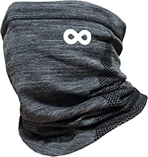 neck warmer with drawstring