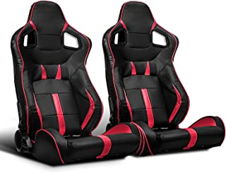 pvc leather racing seats