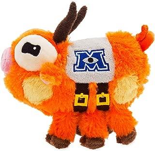 Disney, The Monsters University mascot scare pig; Archie Mini Bean Bag Soft Plush Toy- 18cm