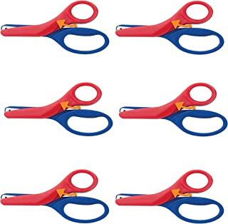 Fiskars Pre-School Training Scissors, Color Received May Vary (194900-1001), Multicolor (6)