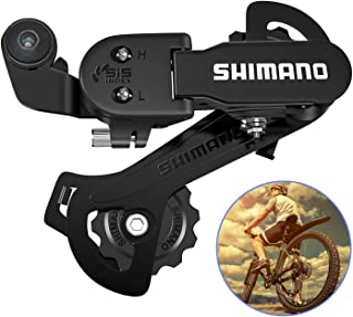 YSISLY 7 Speed 8 Speed 9 Speed Rear Derailleur Bicycle Rear Derailleur Transmission for Outdoor Cycling Mountain Bike