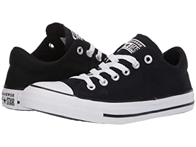 Converse Chuck Taylor(r) All Star(r) Madison True Faves Ox (Black/Natural Ivory/White) Women