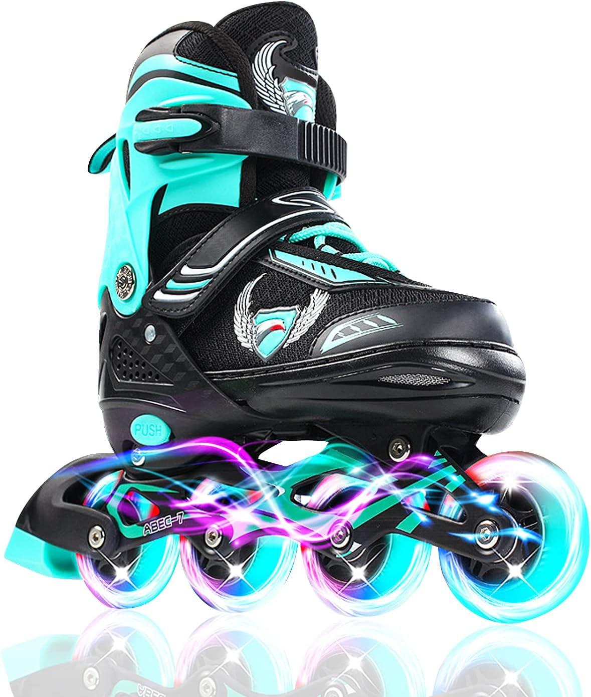 KDJ Max 40% OFF Adjustable Inline Skates for sold out Boys Kids Rolle Beginners Girls