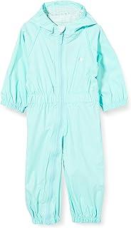 Trespass Children's Button Waterproof Rain Suit with Hood