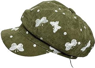 Scala Linen BLND Cadet with Rosette Cap HAT