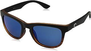 costa del mar Women 's copra polarizadas wayfarer anteojos de sol de iridio, Mate Coco fadeblue espejo 580P, 51.9mm