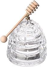 Bohemia Crystal Honey Jar - Clear