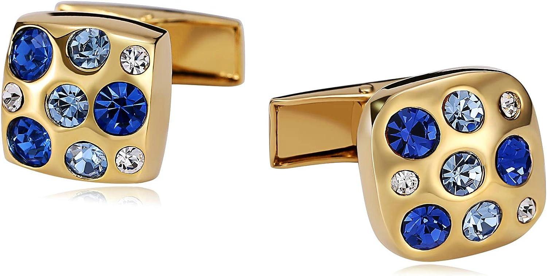 AMDXD Stainless Steel Cufflinks Ranking TOP13 for Super-cheap Wedding Links Gold Men Cuff