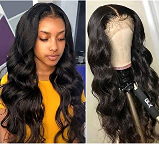 360 Lace Frontal Wigs Human Hair Lace Front Wigs Brazilian Body Wave Lace Front Wigs Pre Plucked with Baby Hair 150% Density Body Wave Human Hair Wigs for Black Women