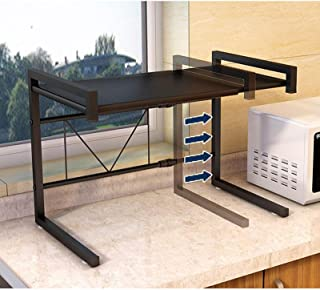 Zhicaikeji Grille de Four à Micro-Ondes Porte-Four à Micro-Ondes Cabinet de Rangement de Cuisine en Acier au Carbone pour ...