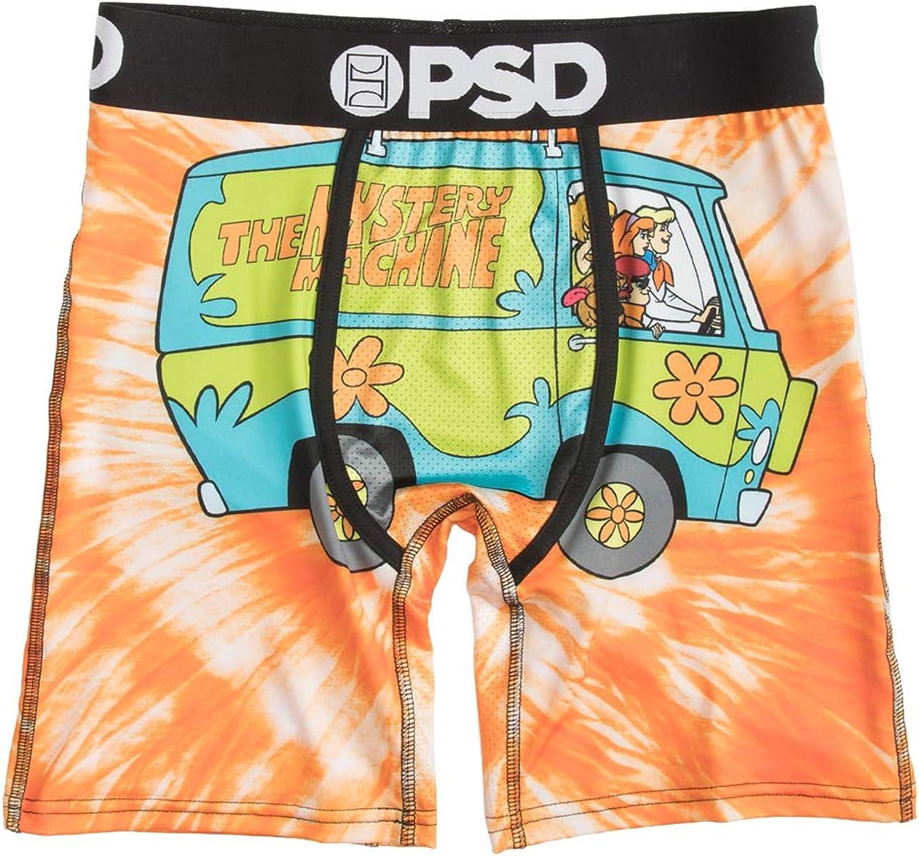 PSD Men's Tie Dye Mystery Machune Boxer Brief Underwear