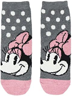 MINNIE MOUSE, S0718840 Casual Sock, Gris, Talla Calzado 31-34 Unisex-Child