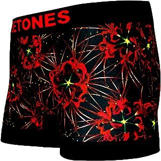 BETONES (ビトーンズ) メンズ ボクサーパンツ SADE RED dwearsステッカー入り ローライズ アンダーウェア ボーダー ブランド 囚われのパルマREFRAIN