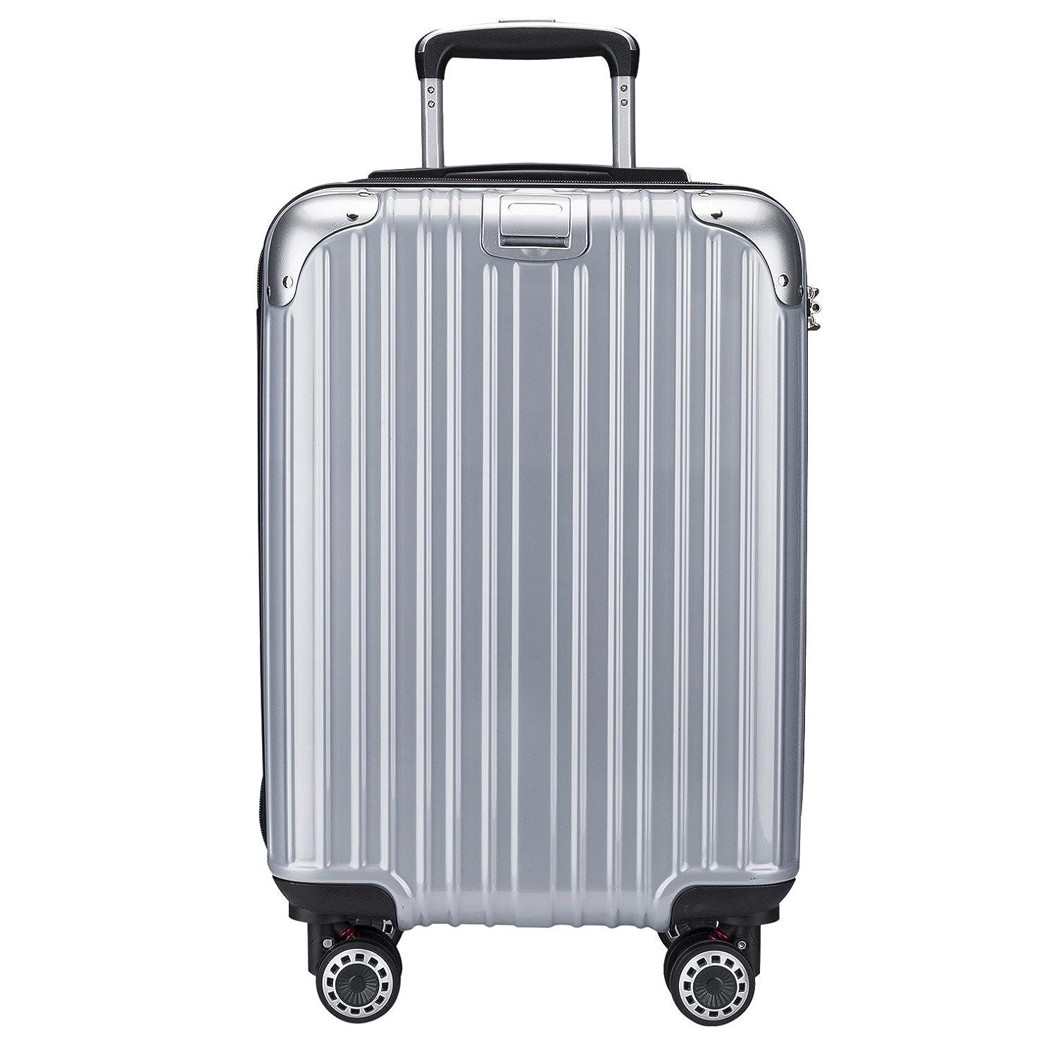 地中海無臭テストTTOvaligeria[TTOバリジェリア] スーツケース 軽量 静音 TSAロック搭載 Wファスナータイプ 大型 容量最大20%拡張 機内持ち込み
