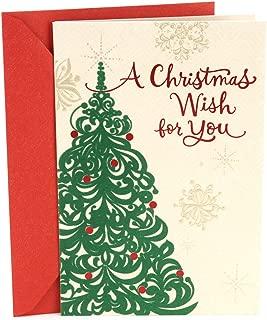 Hallmark Mahogany Christmas Card (Christmas Tree Wish)