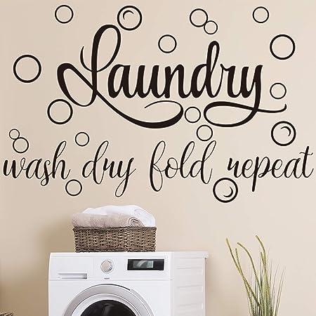 Faith Decor Wall Quotes Vinyl Decal Clothe Yourselves Colossians 3:12 Wall Art Decor Laundry Room Decor Faith Laundry Room